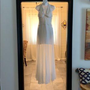 Casadei White Shear Vintage Wedding Dress!